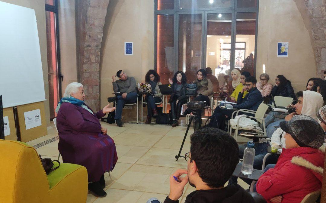 Réalisation de film documentaire avec Izza Genini